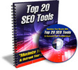 Thumbnail Top 20 SEO Tools - eBook and Audio (PLR)