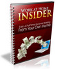 Thumbnail Work at Home Insider (PLR)