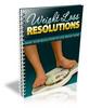 Thumbnail Weight Loss Resolutions (PLR)
