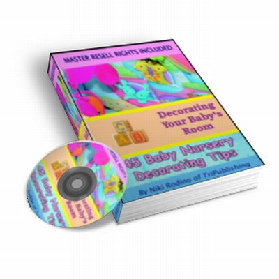 Pay for 45 Baby Nursery Decorating Tips - eBook and Audio PLR