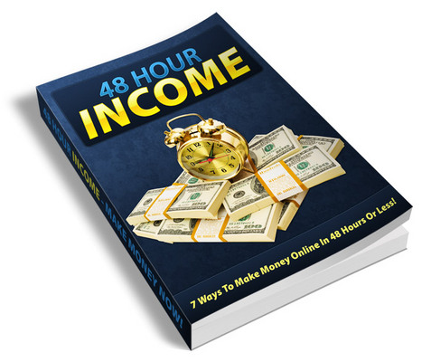 Pay for 48 Hour Income (PLR)