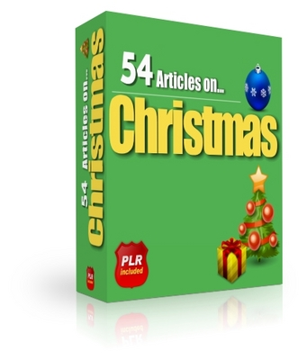 Pay for 54 Christmas Toy Articles (PLR)