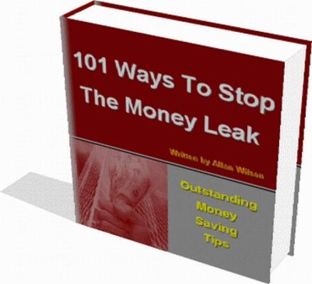Pay for 101 Stop Money Leaks PLR