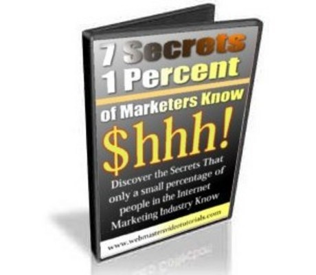 Pay for 7 Secrets Only 1 Percent of Internet Marketers Know - Video
