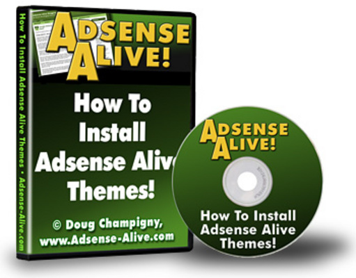 Pay for Adsense Alive - Wordpress Theme Package PLR