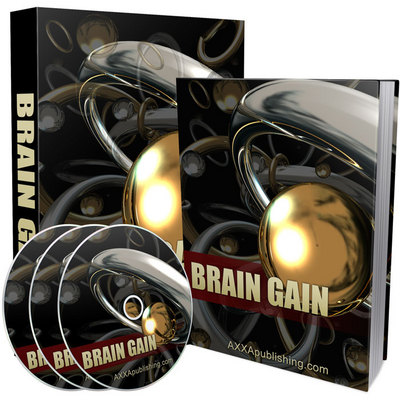 Pay for Brain Gain - eBook and Audio (PLR)