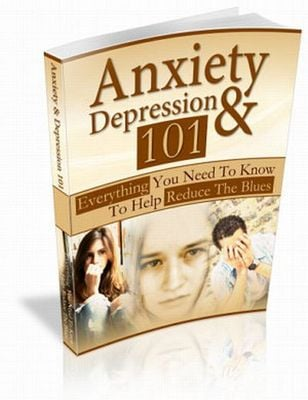 Pay for Anxiety and Depression 101 plr