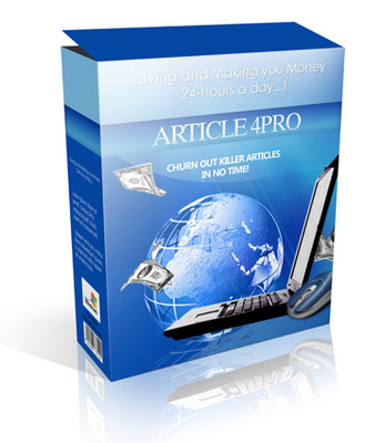 Pay for Article Submitter 4Pro - Software (PLR)