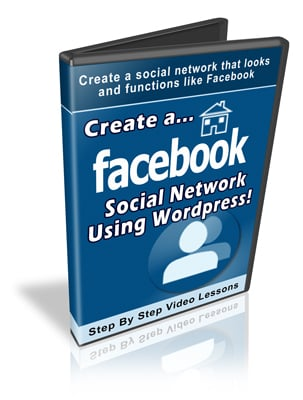 Pay for Create a Facebook Social Network Using Wordpress - Video PLR