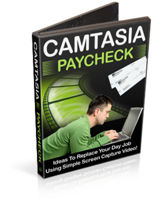 Pay for Camtasia Paycheck - Video Tutorials PLR