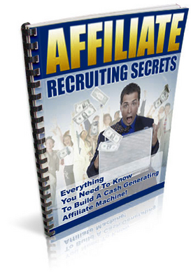 Pay for Affiliate Recruiting Secrets plr