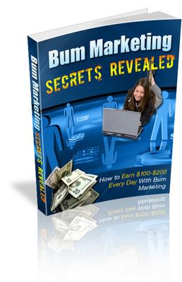 Pay for Bum Marketing Secrets Revealed (PLR)