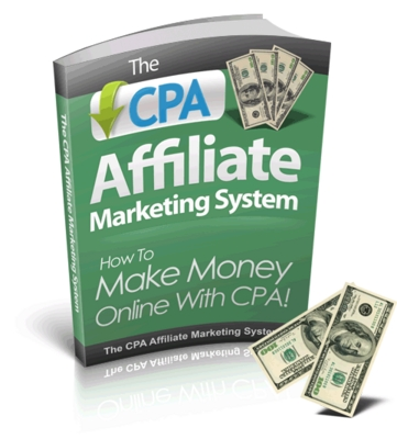 Pay for CPA Affiliate Marketing System plr