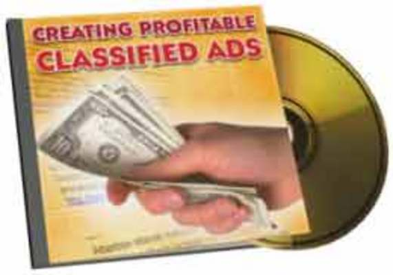 Pay for Creating Profitable Classified Ads plr