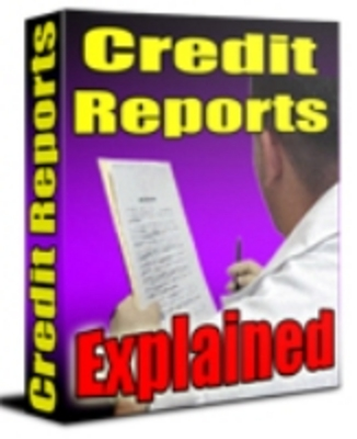 Pay for Credit Reports Explained plr