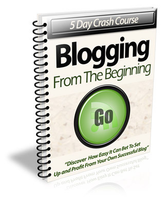 Pay for Blogging From the Beginning - eCourse (PLR)