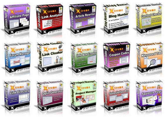 Pay for IM Software Xtreme - 15 Top Notch Internet Marketing Tools w