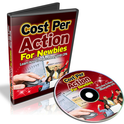 Pay for Cost Per Action for Newbies - Video Series (Viral PLR)