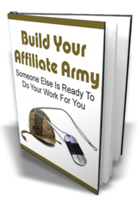 Pay for Build Your Affiliate Army plr