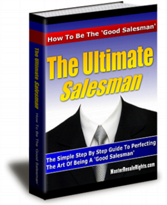 Pay for Ultimate Salesman With Plr