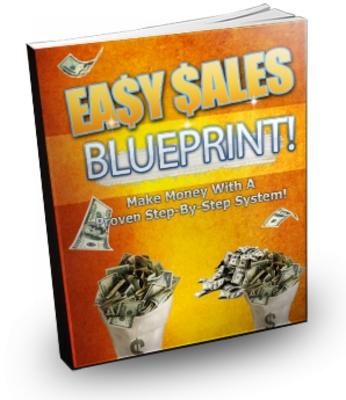 Pay for Easy Sales Blueprint - 12 Step Onli ne Business Model PLR