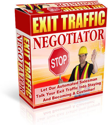 Pay for Exit Traffic Negotiator plr