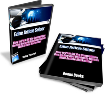 Pay for Ezine Article Sniper - Video Tutorial
