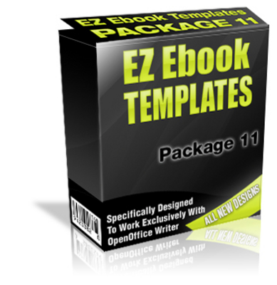 Pay for EZ eBook Templates Package V11 PLR