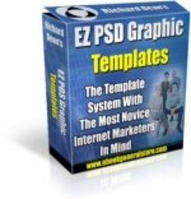 Pay for EZ PSD Graphics Templates PLR