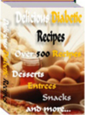Pay for Delicious Diabetic Recipes plr