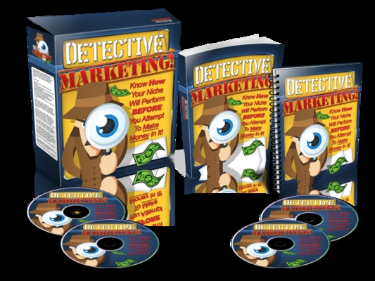 Pay for Detective Marketing - Website Template plr