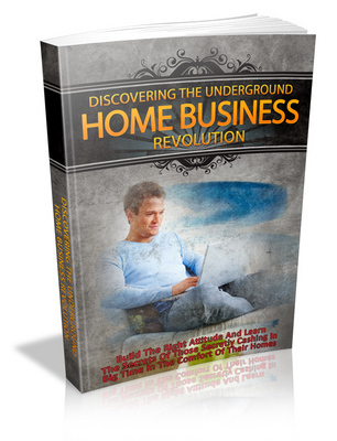 Pay for Discovering the Underground Home Business Revoltion PLR