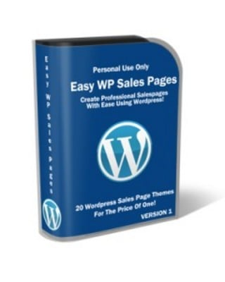 Pay for Easy Wordpress Salespages (PLR)