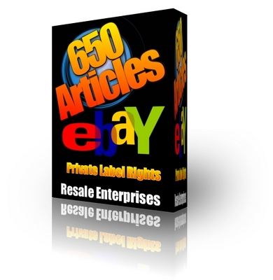 Pay for eBay Articles Pack 650 (PLR)