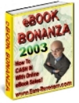 Pay for eBook Bonanza