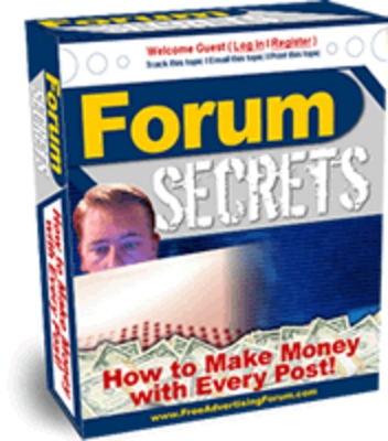 Pay for Forum Secrets PLR