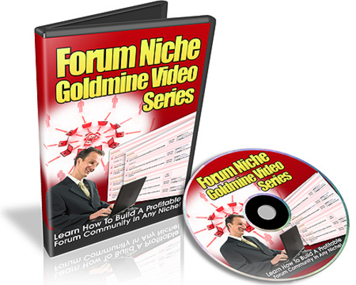 Pay for Forum Niche Goldmine Video Series (Viral PLR)