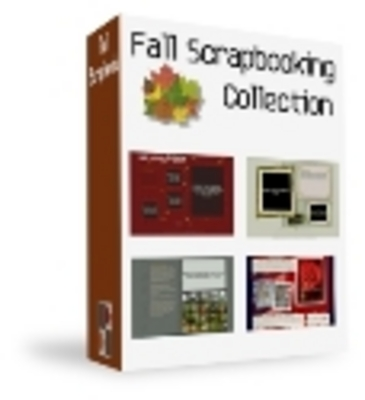 Pay for Fall Scrapbooking Collection PLR