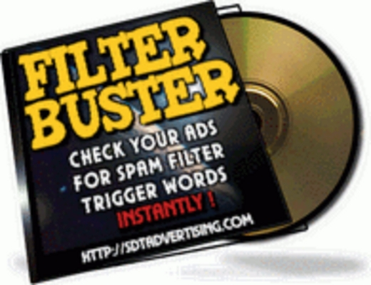 Pay for Filter Buster plr