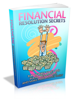 Pay for Financial Resolution Secrets - Viral eBook plr