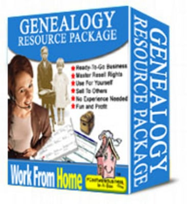 Pay for Genealogy Resource Package plr
