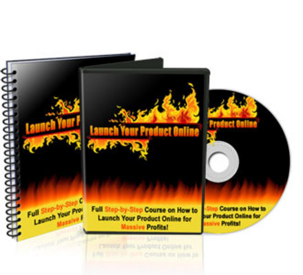 Pay for Launch Your Product Online - Audio and Video