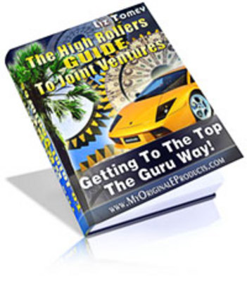 Pay for High Rollers Guide To Joint Ventures PLR