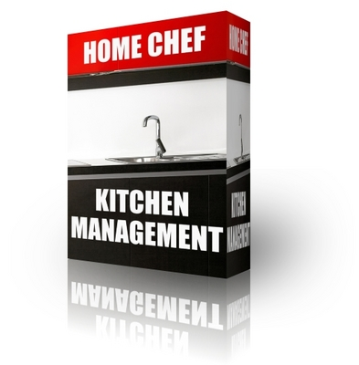 Pay for Home Chef Kitchen Management (PLR)