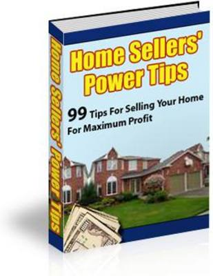 Pay for Home Sellers Power Tips (PLR)