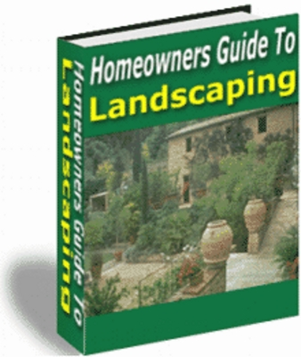 Pay for Homeowners Guide to Landscaping PLR