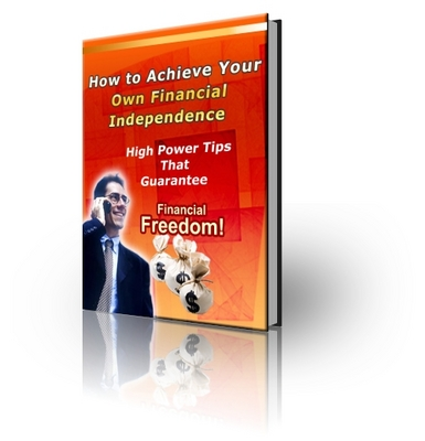 Pay for How to Achieve Your own Financial Independence (PLR)