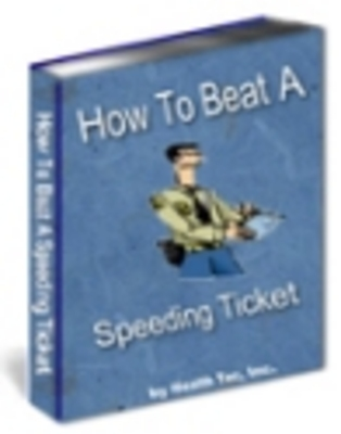 Pay for How to Beat Speeding Tickets PLR