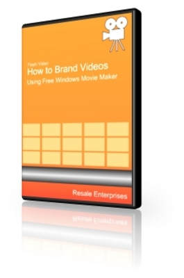Pay for How to Brand Videos With Windows Movie Maker - Video (PLR)