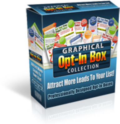Pay for Graphical Opt-In Box Collection PLR
